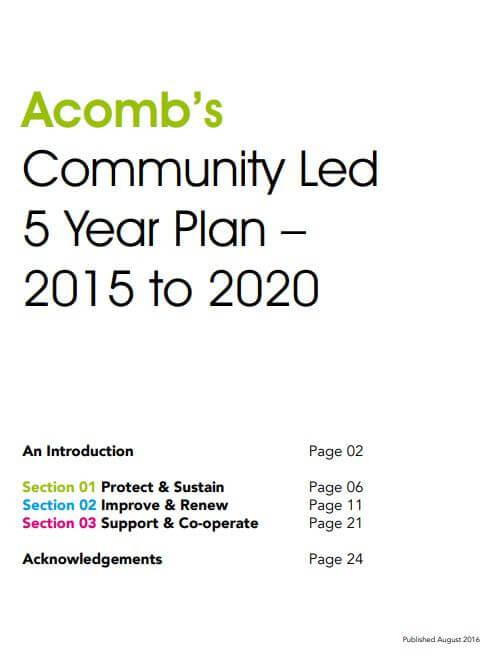 Community Led Plan Cover